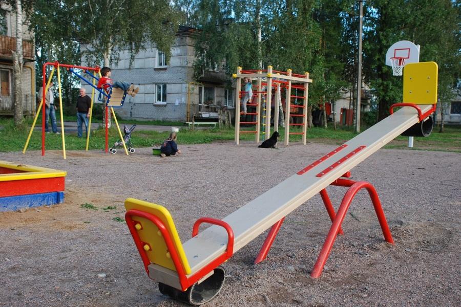 Детская площадка картинки