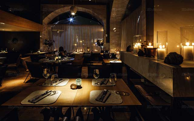 интерьеры ресторана
